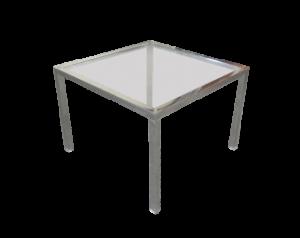 metal glass side table, coffee table