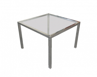 metal glass side table, coffee table