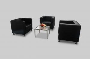 Verre Square Glass Coffee Table Setup - Nov2018 144px