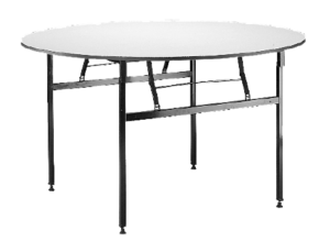 round banquet table, dining table