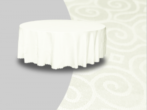Winchester Round Banquet Table Cover Beige 1 300x225 - Winchester Round Banquet Table