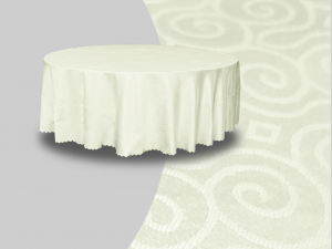 Winchester Round Banquet Table Cover Cream 1 300x225 - Winchester Round Banquet Table