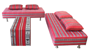 arabic ottoman setup 2 1 300x185 - Low Majlis Cushion