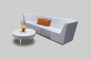 aug2017 avalon round gold coffee table setup coffee tables 1 300x197 - Avalon Round Gold Coffee Table