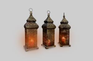 Areeka Event Rentals - Brass Arabic Lamp