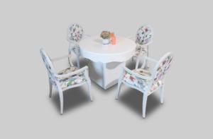 aug2017 le minou chic round dining table setup dining tables 1 300x197 - Le Minou Chic Round Dining Table