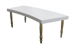 avalon curved gold dining table e1502866967186 1 300x200 - Avalon Curved Gold Dining Table
