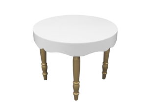 avalon curved round gold dining table 1 1 300x227 - Avalon Chic Round Gold Dining Table