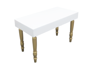 avalon rectangular gold dining table 1 300x228 - Avalon Rectangular Gold Dining Table