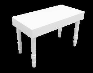 avalon rectangular white dining table 1 1 300x237 - Avalon Rectangular White Dining Table