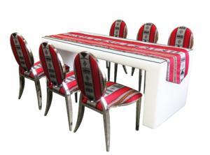 chrome dior sadu setup 1 2 300x222 - Sadu Chrome Dior Dining Chair #2