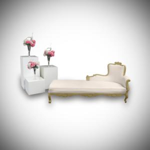 duchess chaise lounge setup 2 300x300 - Le Minou Pedestal