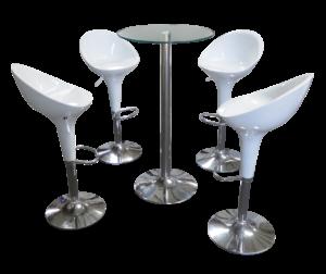 madrid bar stool setup 1 300x252 - Madrid Acrylic Bar Stool