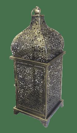 Medium Brass Arabic Lamp, ramadan, arabic accessories