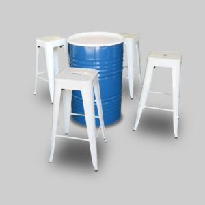 pauchard bar stools white barstools jan2018 300x300 - Pauchard Bar Stool - White