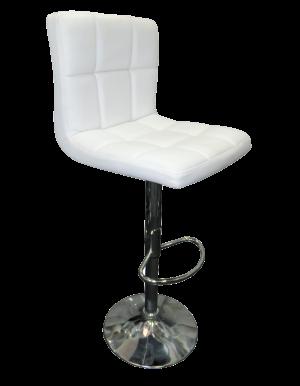 seville bar stool e1513752800326 1 1 300x386 - Seville Leather Bar Stool in White