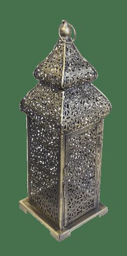 small brass arabic lamp, arabic lantern