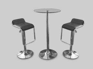 toledo car stool black with colada cocktail table 2 1 1 300x222 - Toledo Black Bar Stool